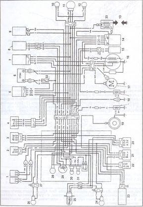 квадроцикл стелс 600 ремонт эл оборудования схема принципиальная